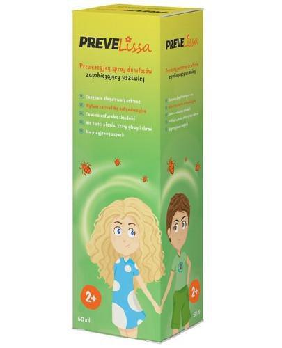 PreveLissa spray do włosów zapobiegający wszawicy 50 ml