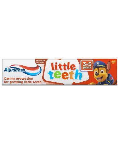 Aquafresh Little Teeth Psi Patrol pasta do zębów dla dzieci 3-5 lat 50 ml