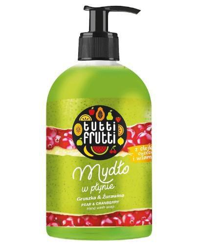 Farmona Tutti Frutti mydło w płynie gruszka i żurawina 500 ml