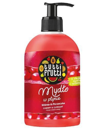 Farmona Tutti Frutti mydło w płynie wiśnia i porzeczka 500 ml