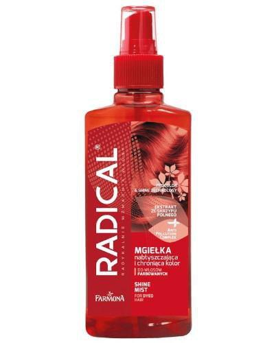 Farmona Radical nabłyszczająca mgiełka ochraniająca kolor do włosów farbowanych i z ...