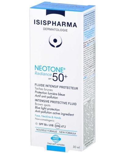 Isis Neotone Radiance serum na dzień likwidujące przebarwienia skóry z filtrem SP...