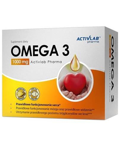 ActivLab Omega 3 1000 mg 60 kapsułek