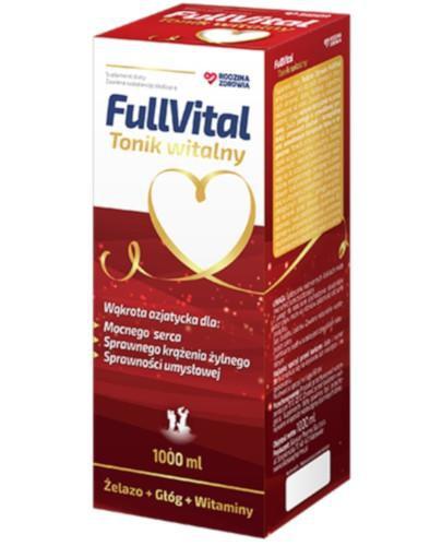 Rodzina Zdrowia FullVital Tonik witalny 1000 ml
