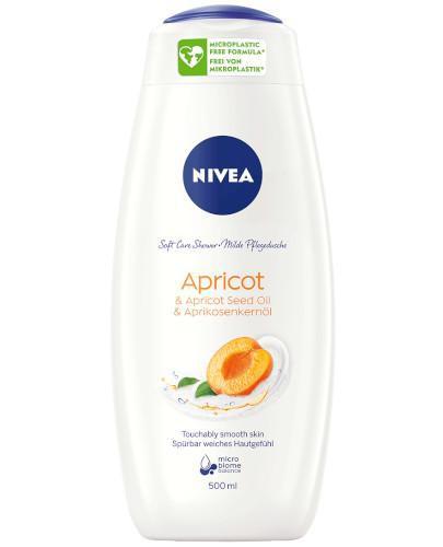 Nivea Apricot & Apricot Seed Oil żel pod prysznic 500 ml