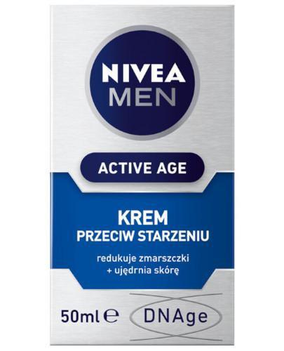 Nivea Men Active Age krem przeciw starzeniu 50 ml