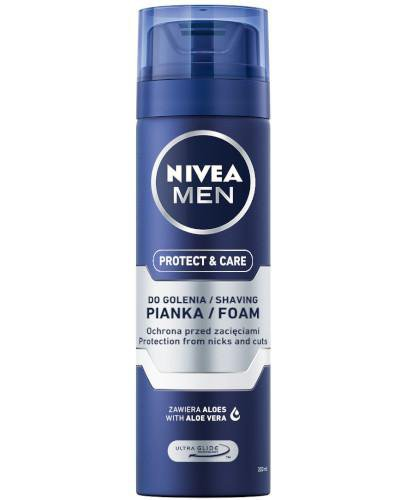 Nivea Men Protect & Care pianka do golenia 200 ml