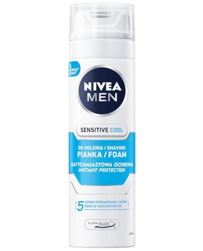 Nivea Men Sensitive Cool pianka do golenia 200 ml