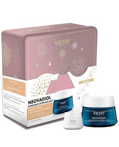 Vichy Neovadiol aktywny krem odbudowujący na noc dla skóry dojrzałej 50 ml + krem na dz...
