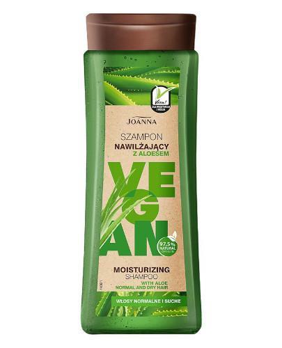 Joanna Vegan szampon nawilżający z aloesem 300 ml