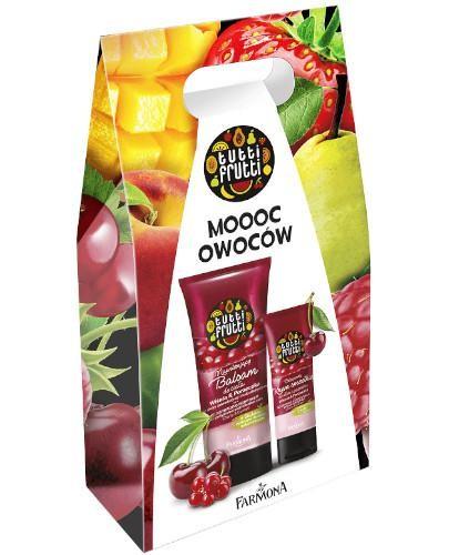 Farmona Tutti Frutti odżywczy krem smoothie do dłoni i paznokci wiśnia i porzeczka 75 m...