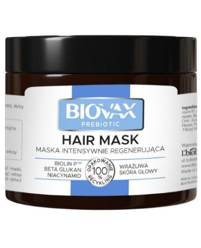 Biovax Prebiotic maska intensywnie regenerująca 250 ml