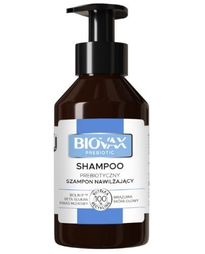 Biovax Prebiotic szampon nawilżający do wrażliwej skóry głowy 200 ml