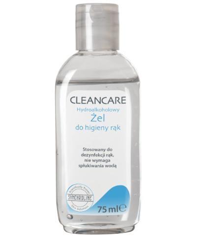 Cleancare hydroalkoholowy żel do higieny rąk 75 ml