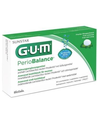 GUM PerioBalance 30 tabletek