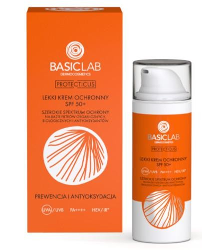 Basiclab Protecticus lekki krem ochronny SPF50+ 50 ml