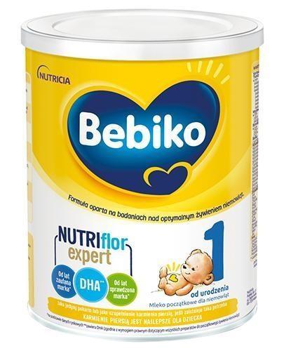 Bebiko 1 Nutriflor Expert mleko początkowe od urodzenia 700 g