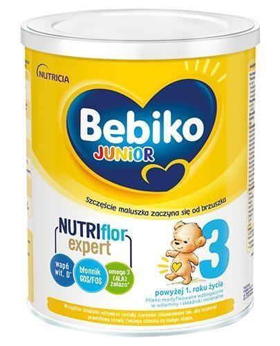 Bebiko 3 Junior Nutriflor Expert mleko modyfikowane powyżej 1. roku życia 700 g