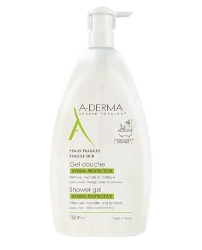 A-Derma Hydra ochronny żel pod prysznic 750 ml