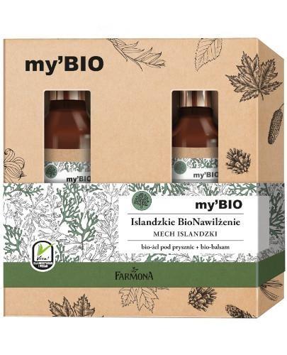 Farmona my'BIO Islandzkie BioNawilżenie mineralny nawilżający bio-żel pod pryszni...