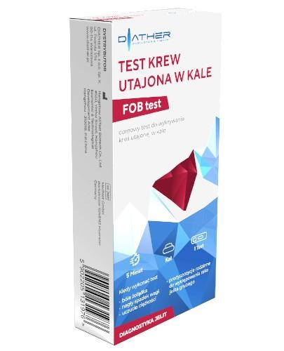 Diather Test krew utajona w kale 1 sztuka