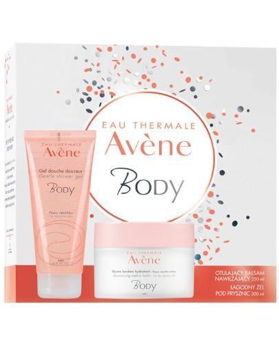 Avene Body otulający balsam nawilżający do ciała 250 ml + łagodny żel pod pryszni...