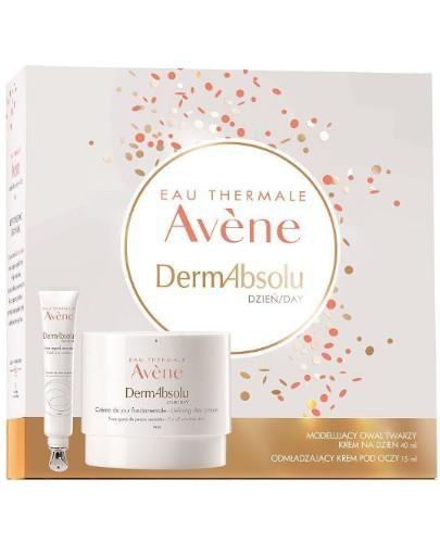 Avene DermAbsolu modelujący owal twarzy krem na dzień 40 ml + krem pod oczy 15 ml [ZESTA...