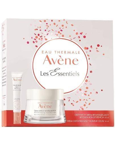 Avene Les Essentiels odżywczy krem rewitalizujący bogata konsystencja 50 ml + krem odśw...