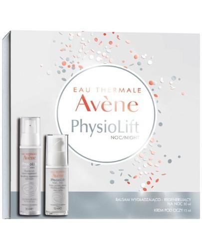 Avene PhysioLift balsam wygładzająco-regenerujący na noc 30 ml + krem do pielęgnacji s...