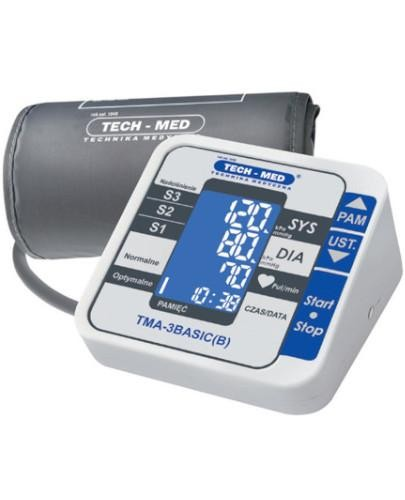 Tech-Med TMA-3BASIC(B) ciśnieniomierz elektroniczny 1 sztuka