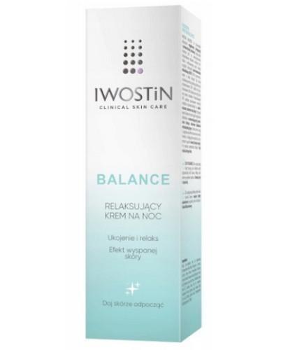 Iwostin Balance relaksujący krem na noc 50 ml