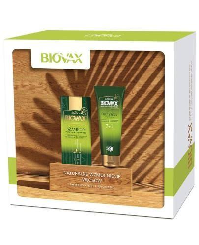 Biovax Bambus & Olej Avocado intensywnie regenerujący szampon 200 ml + odżywka ekspresow...
