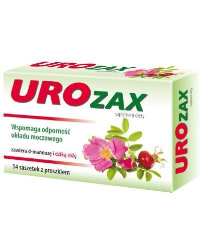 UROzax proszek do sporządzania roztworu doustnego 14 saszetek