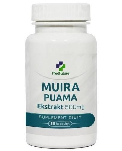 MedFuture Muira Puama ekstrakt 60 kapsułek