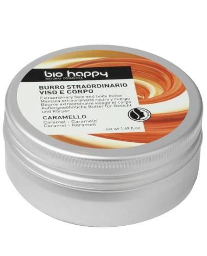 Bio Happy SOS Naprawcze masło do twarzy i ciała Karmel 50 ml
