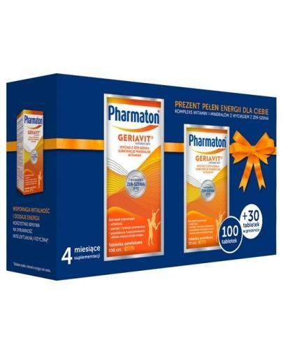 Pharmaton Geriavit 130 tabletek (100+30) [ZESTAW]