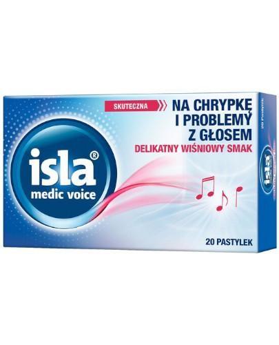Isla Medic Voice 20 pastylek do ssania