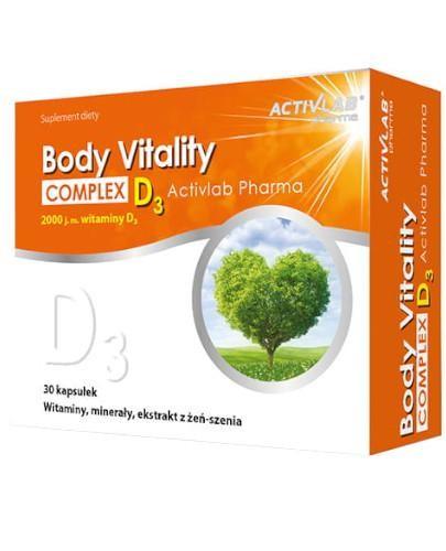 ActivLab Body Vitality Complex + D3 30 kapsułek