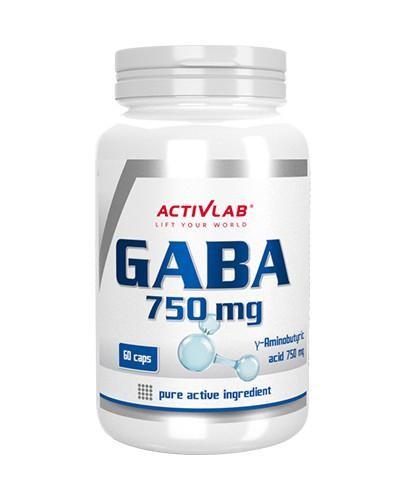 ActivLab GABA 750 mg 60 kapsułek