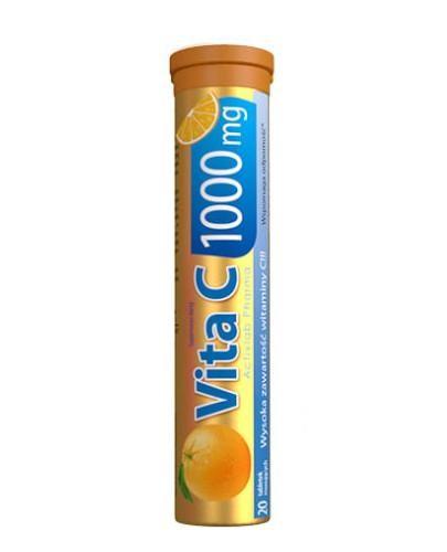 ActivLab Vit C 1000 mg o smaku pomarańczowym 20 tabletek musujących