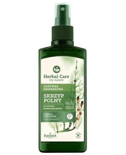 Farmona Herbal Care odżywka ekspresowa w sprayu do włosów bardzo zniszczonych Skrzyp Po...