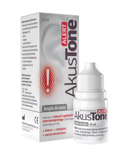 AkusTone Alert krople do uszu 15 ml