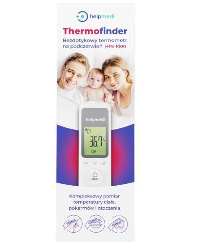 Helpmedi Thermofinder HFS-1000 bezdotykowy termometr na podczerwień 1 sztuka