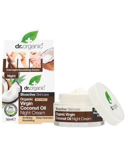 Dr.Organic Coconut krem na noc z olejkiem kokosowym 50 ml