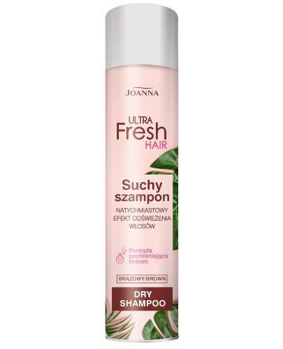 Joanna Ultra Fresh szampon suchy brązowy 200 ml