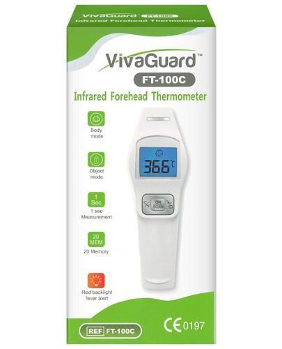 Vivaguard FT 100C termometr czołowy na podczerwień 1 sztuka