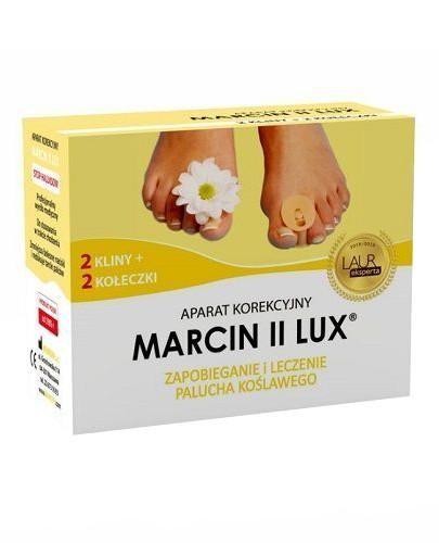 Aparat korekcyjny MARCIN II Lux do stosowania w trakcie chodzenia 1 sztuka