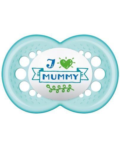 MAM Love&Affection smoczek silikonowy 6m+ uspokajający 1 sztuka [mummy_boy]