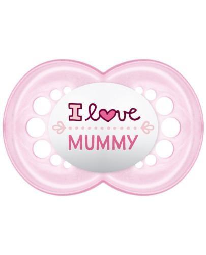 MAM Love&Affection smoczek silikonowy 6m+ uspokajający 1 sztuka [mummy_girl]