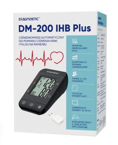 Diagnostic DM-200 IHB Plus ciśnieniomierz automatyczny naramienny z zasilaczem 1 sztuka